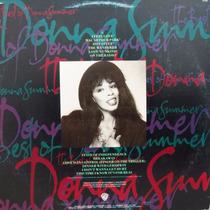 Lp Donna Summer - The Best Of Donna Summer - Vinil Raro