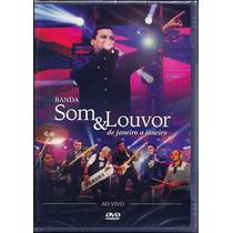 Dvd Som E Louvor - De Janeiro A Janeiro - Ao Vivo [original]