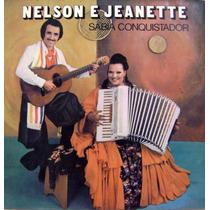 Vinil / Lp - Nelson E Jeanette - Sabiá Conquistador