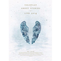 Coldplay Ghost Stories Dvd + Cd Live 2014 Lacrado