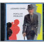 Cd Leonard Cohen - Popular Problems - Novo***