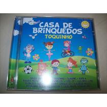 Cd - Casa De Brinquedos - Toquinho - Nacional - Usado