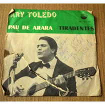 Compacto Autografado Ary Toledo Pau De Arara Disco Vinil Ep