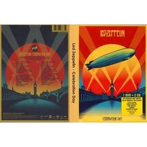Dvd + Cd Duplo Led Zeppelin - Celebration Day (lacrado)