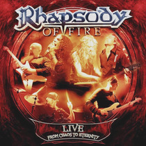 Cd Rhapsody Of Fire - Live From Chaos To Eternity - Duplo