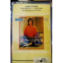 Fita K7 Cassete Jane Fonda Alongamento E Anti Stress Rara