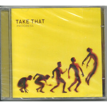 Cd Take That - Progress - Com Robbie Williams Lacrado