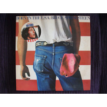 Lp Bruce Springsteen Born In The Usa Stereo 1984 Promo