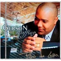 Cd Gerson Rufino - Filho De Leão [original]