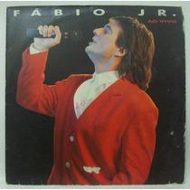 Lp Fábio Jr. - Ao Vivo - 1986 - Discos Cbs