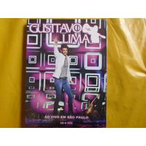 Cd+dvd Gustavo Lima Ao Vivo Em São Paulo / Novo