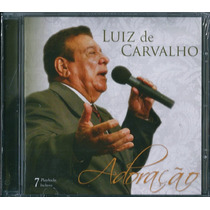 Cd Luiz De Carvalho - Adoração [bônus Playback]