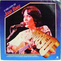 Vinil / Lp - O Melhor De Joan Baez - Aplauso (1984)