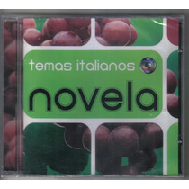 Cd Temas Italianos De Novela Da Globo - Novo Lacrado