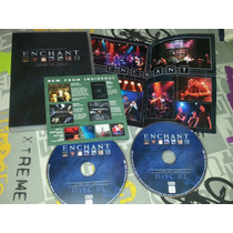 Enchant - Live At Last Dvd Duplo Importado - Marillion Floyd