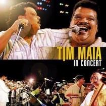 Cd Tim Maia - In Concert 2007 Coleção Abril