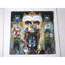 Lp Michael Jackson: Dangerous Duplo C/ Encarte 1991