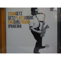 Cd Stan Getz - Getz Plays Jobim: The Girl From Ipanema