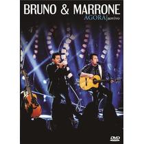Dvd Bruno E Marrone Agora Original + Frete Grátis