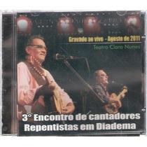 3º Encontro De Cantadores Repentistas Diadema - Cd Original