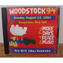 Cd Red Hot Chili Peppers Woodstock 94 Ao Vivo Funk Rock Imp.