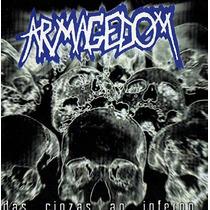 Armagedom - Cd Das Cinzas Ao Inferno Thrash, Hardcore