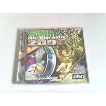 Cd Carnaval 2000 - Sambas Enredo (rio De Janeiro)