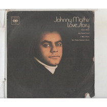 Compacto Vinil Johnny Mathis - Love Story - 1971 - Cbs