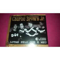 Cd Single Charlie Brown Jr - Lutar Pelo Que É Meu