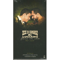 Box Zeze Di Camargo E Luciano - Flores Em Vida (lacrado)