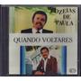 Cd Ozeias De Paula - Quando Voltares [original]