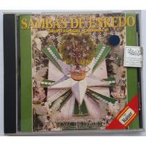 Cd Samba Enredo 1991 - Rio De Janeiro