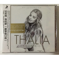 Thalia Cd Amore Mio Deluxe Edition Taiwan