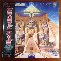 Iron Maiden - Powerslave - Lp Vinil (picture Disc) 2013