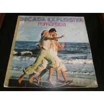 Lp Década Explosiva Romântica, Disco Vinil, Ano 1976