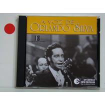 Cd - Orlando Silva - A Voz De (duplo)