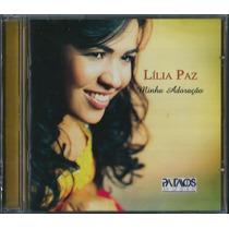 Cd Lília Paz - Minha Adoração [original]