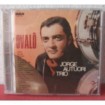 Cd Jorge Autuori Trio Ovalô Bossa Jazz Instrumental Rca 1969