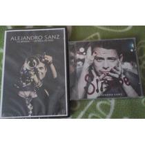 Alejandro Sanz: Dvd La Musica No Se Toca En Vivo + Cd Sirope