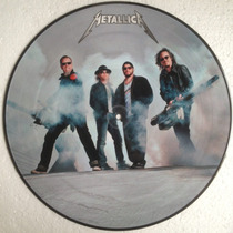 Metallica - Master Of Sao Paulo Pt.1 - Lp Picture Disc Novo