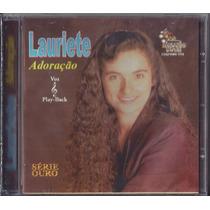 Cd Lauriete - Adoração * Bônus Playback