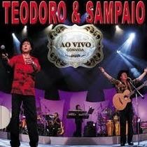 Teodoro & Sampaio Ao Vivo Cd Lacrado Original
