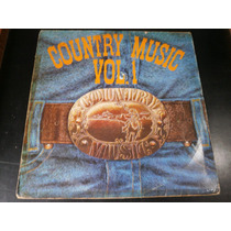 Lp Country Music Vol.1, Gary Burr, Gail Davies, Vinil,1979