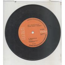 Compacto Vinil Os Incríveis - Cem Milhões De Corações - 1974