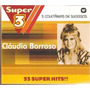 Box - Claudia Barroso - 33 Super Sucessos - 3 Cds - Lacrado