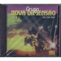 Cd Grupo Nova Dimensão - Presença [bônus Playback]