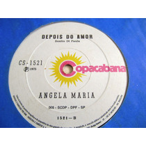 Compacto Angela Maria Depois Do Amor Tango Para Tereza 75