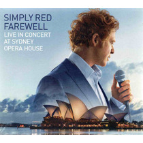 Simply Red Farewell Live In Concert At Opera House Dvd + Cd