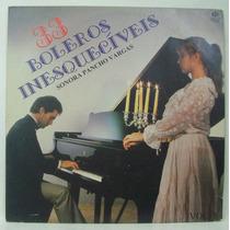Lp Sonora Pancho Vargas - 33 Boleros Inesquecíveis - 1996 -