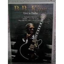 Dvd Bb King Live In Dallas Novo Lacrado Original